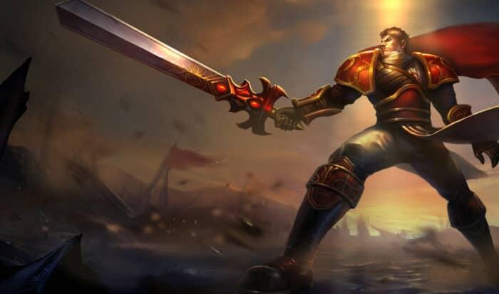 Гайд на Garen League of Legends